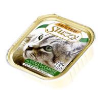 ووم گربه استوزی با طعم گوشت گوساله و هویج 100 گرمی