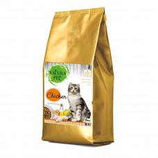 غذای خشک گربه بالغ ناتورا پت با طعم مرغ