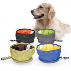 ظرف غذای حمل شونده مسافرتی سگ