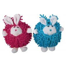 اسباب بازی عروسک کنفی پشمی صدادار طرح خرگوش مخصوص سگ