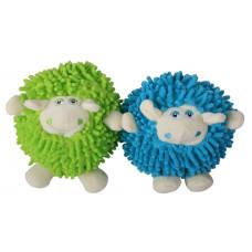 اسباب بازی عروسک کنفی پشمی صدادار طرح گوسفند مخصوص سگ