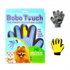 دستکش سیلیکونی ماساژ و لمس سگ و گربه Bobo Touch