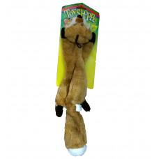اسباب بازی روباه پولیشی صوت دار مخصوص گربه و سگ 40 سانتی متری