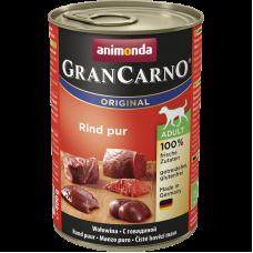 کنسرو گرن کارنو حاوی گوشت گاو خالص مخصوص سگ بالغ