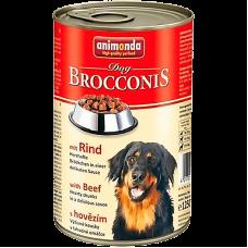 کنسرو سگ بروکنیز آنیموندا حاوی گوشت گاو مخصوص سگ، 1240 گرمی