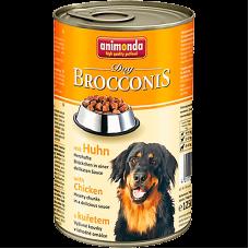 کنسرو سگ بروکنیز آنیموندا حاوی گوشت مرغ مخصوص سگ، 1240 گرمی