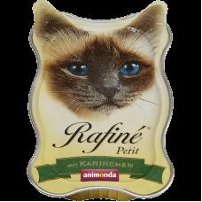 ووم آنیموندا رافینه پتیت حاوی پته گوشت خرگوش مخصوص گربه 85 گرم