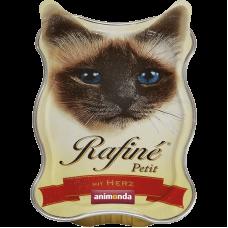ووم آنیموندا رافینه پتیت حاوی پته گوشت دل مخصوص گربه 85 گرم