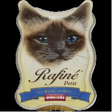 ووم آنیموندا رافینه پتیت حاوی پته گوشت ماهی مخصوص گربه 85 گرم