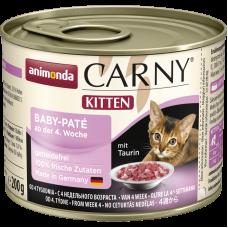 کنسرو کارنی آنیموندا پته مخصوص بچه گربه تازه از شیر گرفته شده 200 گرم