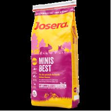 غذای خشک مینیز بست جوسرا مخصوص توله سگ نژاد کوچک حاوی گوشت بره و سالمون - 1.5 کیلوگرم