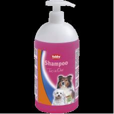 شامپو و نرم کننده موی سگ پمپی نوبی 1 لیتر