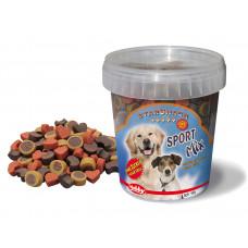تشویقی نوبی نرم سطلی استاراسنک اسپرت میکس طرح مخلوط، مخصوص سگ ، 500 گرمی