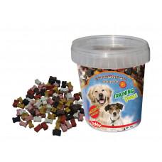 تشویقی نوبی نرم سطلی استار اسنک ترینینگ بونز طرح استخوان مخلوط مخصوص سگ ، 500 گرمی