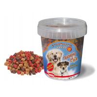 تشویقی نوبی نرم سطلی استاراسنک ترینینگ میکس طرح قلب مخلوط، مخصوص سگ، 500 گرمی