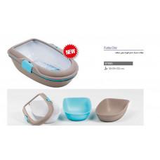 توالت گربه استفان پلاست مدل فوربا بدون نیاز به بیلچه
