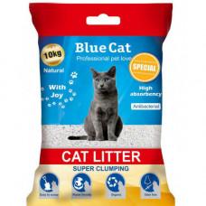 خاک بستر گربه گرانولی بدون رایحه بلو کت 10 کیلوئی