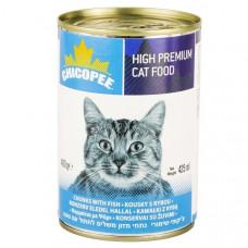 کنسرو گربه چیکوپی طعم ماهی 400 گرمی