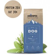 غذای خشک توله سگ برند چیکوپی با طعم گوشت بره و برنج