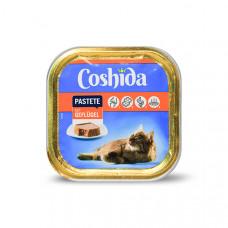 غذای کاسه ای ووم گربه کوشیدا مرغ 100 گرمی