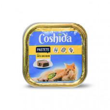 غذای کاسه ای ووم گربه کوشیدا گوشت اردک و جوجه 100 گرمی