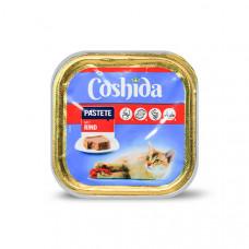 غذای کاسه ای ووم گربه کوشیدا گوشت گاو 100 گرمی