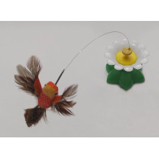 اسباب بازی الکتریکی پرنده چرخان مناسب برای گربه