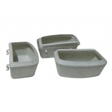 ظرف آب و غذا مخصوص باکس گربه و سگ های نژاد کوچک