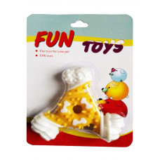 اسباب بازی لاتکس دندانی طرح ستاره مخصوص سگ