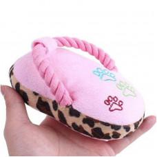 اسباب بازی پولیشی طرح دمپایی مخصوص گربه و سگ
