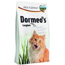 غذای خشک گربه هپی کت دورمئو حاوی امگا 3 و امگا 6 مخصوص گربه های مو بلند