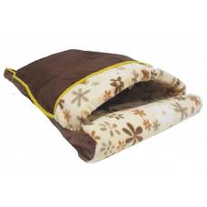 جای خواب تخت پتو دار مخملی مناسب برای گربه و سگ کوچک سایز متوسط