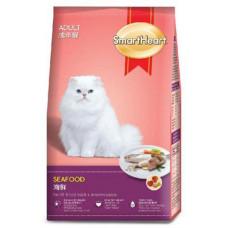 غذای خشک گربه اسمارت هارت با طعم میکس دریایی سالمون مخصوص گربه بالغ