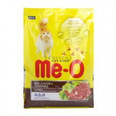 غذای خشک گربه مئو با طعم گوشت و سبزیجات مخصوص گربه بالغ