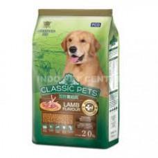 غذای خشک سگ بالغ کلاسیک پت با طعم گوشت بره