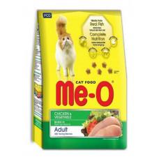 غذای خشک گربه مئو با طعم مرغ و سبزیجات مخصوص گربه بالغ