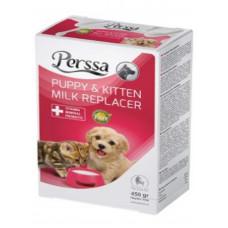 شیر خشک بدون لاکتوز بچه گربه و توله سگ پرسا 450 گرمی