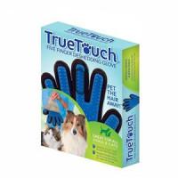 دستکش سیلیکونی ماساژ و لمس سگ و گربه TRUE TOUCH - دست چپ
