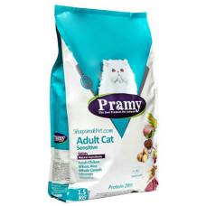 غذای خشک گربه حساس پرامی