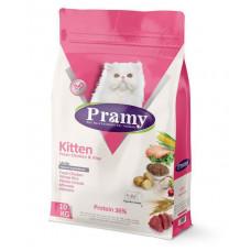 غذای خشک پرامی مخصوص بچه گربه