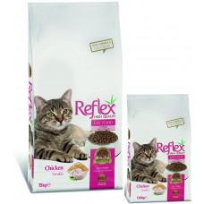 غذای خشک گربه بالغ رفلکس با طعم مرغ