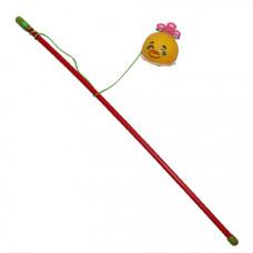 اسباب بازی چوب مخصوص گربه با زنگوله