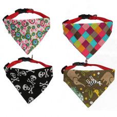 دستمال گردن بصورت قلاده مناسب برای سگ و گربه