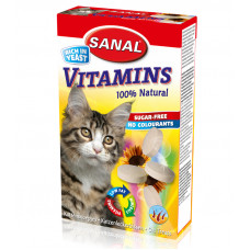قرص ویتامین مخصوص گربه سانال 50 گرمی