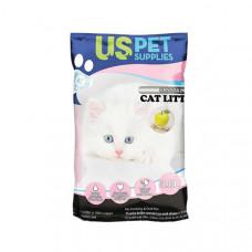 خاک گربه کریستالی یو اس پت با رایحه های مختلف 3.8 لیتری