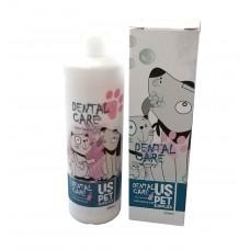 محلول ضد پلاک دندانی یو اس پت برای سگ و گربه 250 میلی گرم