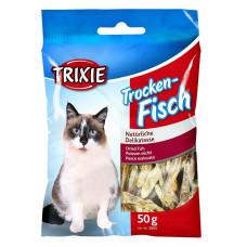 تشویقی گربه ماهی خشک شده تریکسی 50 گرمی