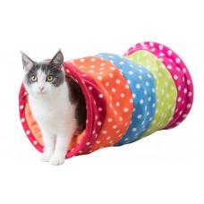 تونل پشمی بازی گربه و سگ های کوچک تریکسی