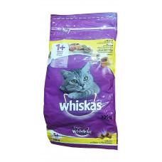 غذای خشک مغزدار گربه ویسکاس با طعم مرغ