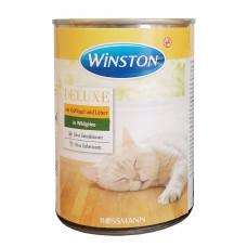 کنسرو گربه وینستون حاوی مرغ و جگر 400 گرمی